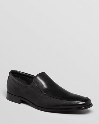 Gordon Rush Elliot Leather Apron Toe Loafers $225 thestylecure.com