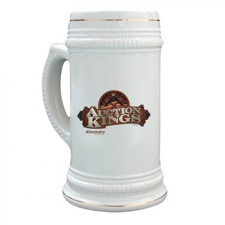 Discovery Auction Kings Logo Stein