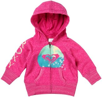 Roxy Kids - Peace Out Hoodie (Infant) (Fuchsia) - Apparel