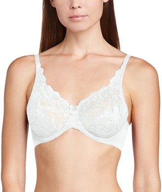 Charnos Rosalind Bra 165010 Underwired Non Padded Full Cup Lace Secret Support