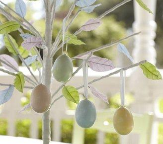 Pottery Barn Kids Glitter Easter Egg Ornaments