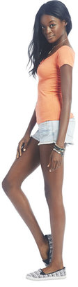 Wet Seal Cinched Front Marilyn Tee