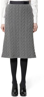 Brooks Brothers Cable Skirt