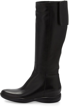 Prada Linea Rossa Sport Napa Chunky-Sole Knee Boot