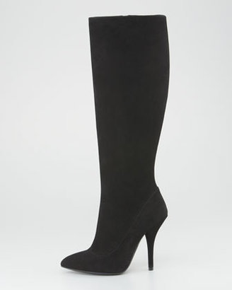 Bottega Veneta Suede Tall Boot