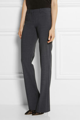 Stretch bootcut pants