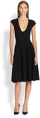 Donna Karan Wool & Cashmere Knit Dress