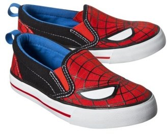Spiderman Toddler Boy's Canvas Shoe - Red