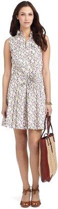 Brooks Brothers Sleeveless Print Dress