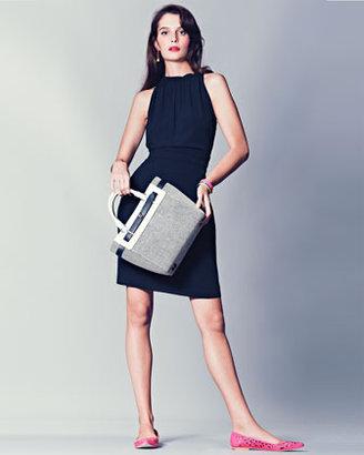 Kate Spade Bourbon Street Skyler Tote Bag, Black/White