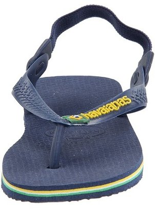 Havaianas Baby Brasil Logo Flip Flops Boy's Shoes