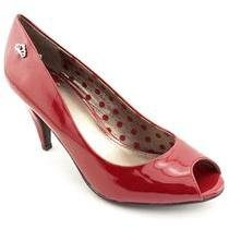 Fergalicious Sariah Womens Peep Toe Pumps Heels Shoes