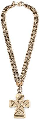 Vanessa Mooney The Zelda Small Cross Necklace
