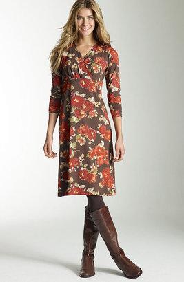 J. Jill Floral knit dress