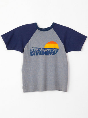 American Apparel Vintage Florida Sunset Raglan T-Shirt