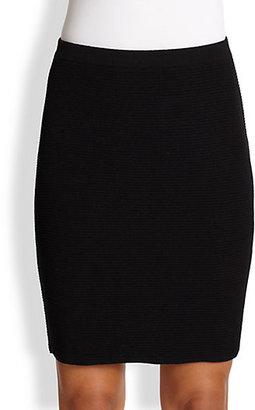 Eileen Fisher Ottoman-Knit Short Skirt