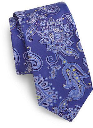 Saks Fifth Avenue Collection Koele Paisley Silk Tie
