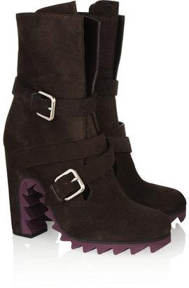 Jil Sander Suede boots