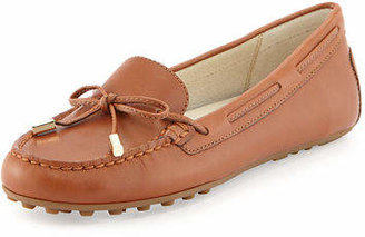 MICHAEL Michael Kors Daisy Leather Moccasin Loafer $99 thestylecure.com