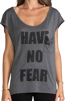 Haute Hippie Have No Fear Cap Sleeve Tee
