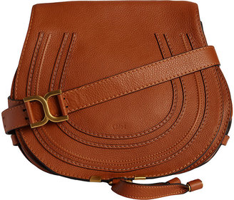 Chloé Women's Marcie Crossbody Saddle Bag $1,490 thestylecure.com