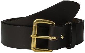 Filson 1 1/2 Leather Belt (Brown w/Brass) Men's Belts