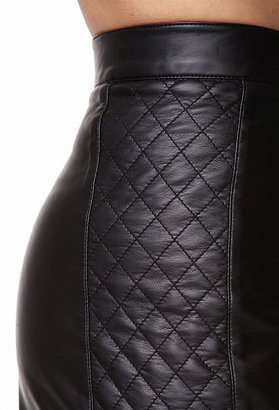 Forever 21 quilted panel hot pants