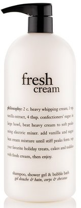 Philosophy 'Fresh Cream' Shampoo, Shower Gel & Bubble Bath $18 thestylecure.com