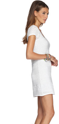 Lilly Pulitzer FINAL SALE - Paulette Crochet Sweater Shift Dress