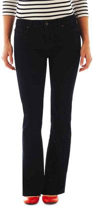 LIZ CLAIBORNE Liz Claiborne 5-Pocket Classic Bootcut Jeans $48 thestylecure.com