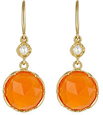 Irene Neuwirth Women's Gemstone Double-Drop Earrings