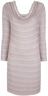 Blumarine crochet knit dress