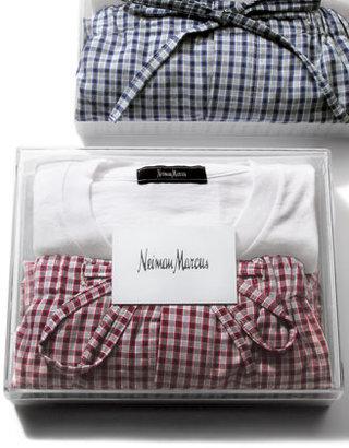 Neiman Marcus Pajama Set, Red