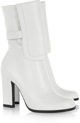 Jil Sander Leather calf boots