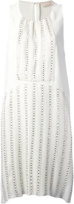 Vanessa Bruno beaded panel dress