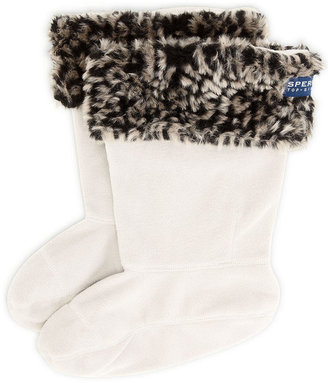 Sperry Women's Boot Liners, Faux-Fur Cuff Boot Liners