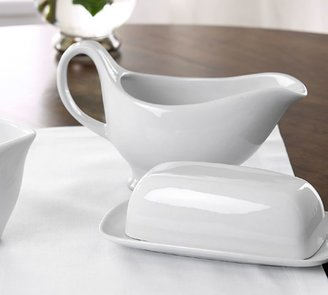Pottery Barn Great White Butter Dish