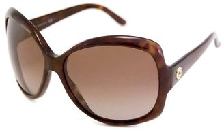 Gucci brown havana acrylic womens sunglasses