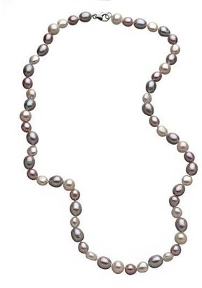M Pearl Pastel Mix Pearl Necklace