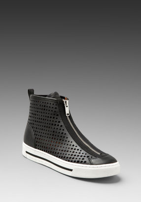 Marc by Marc Jacobs Star Struck Heavy Calf Perforated Sneaker