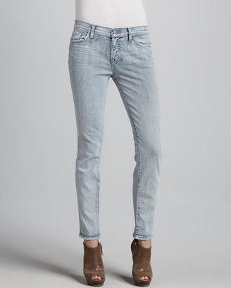 J Brand Jeans Bleached Skinny Jeans