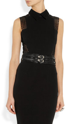 Jimmy Choo Brixton quilted leather belt