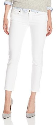 Paige Denim Women's Kylie Crop Jean in Optic White