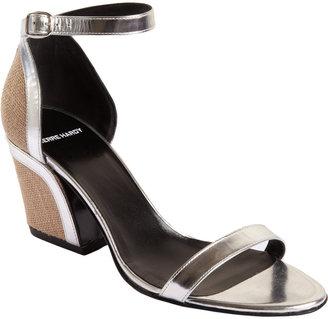 Pierre Hardy Jute Block Heel Sandal