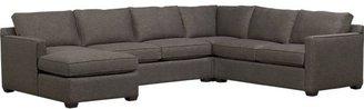 Crate & Barrel Davis 4-Piece Sectional Sofa