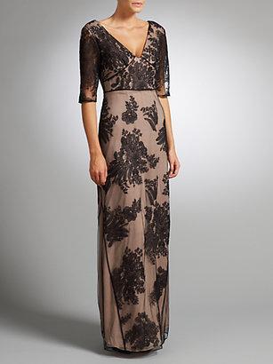 Temperley London Somerset by Alice Lace Long Dress, Black