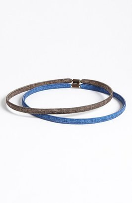 Tasha 'Denim' Headbands (Set of 2)