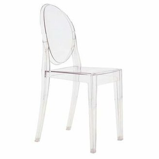 Kartell Victoria Ghost Chair (Set of 4 Upholstery: Transparent Crystal Clear