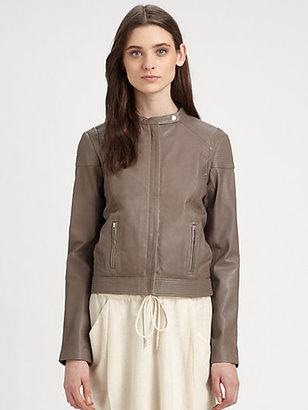 Vanessa Bruno Athe Leather Moto Jacket
