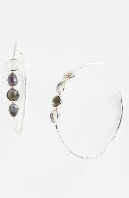 Ippolita 4-Stone Hoop Earrings (Nordstrom Exclusive)